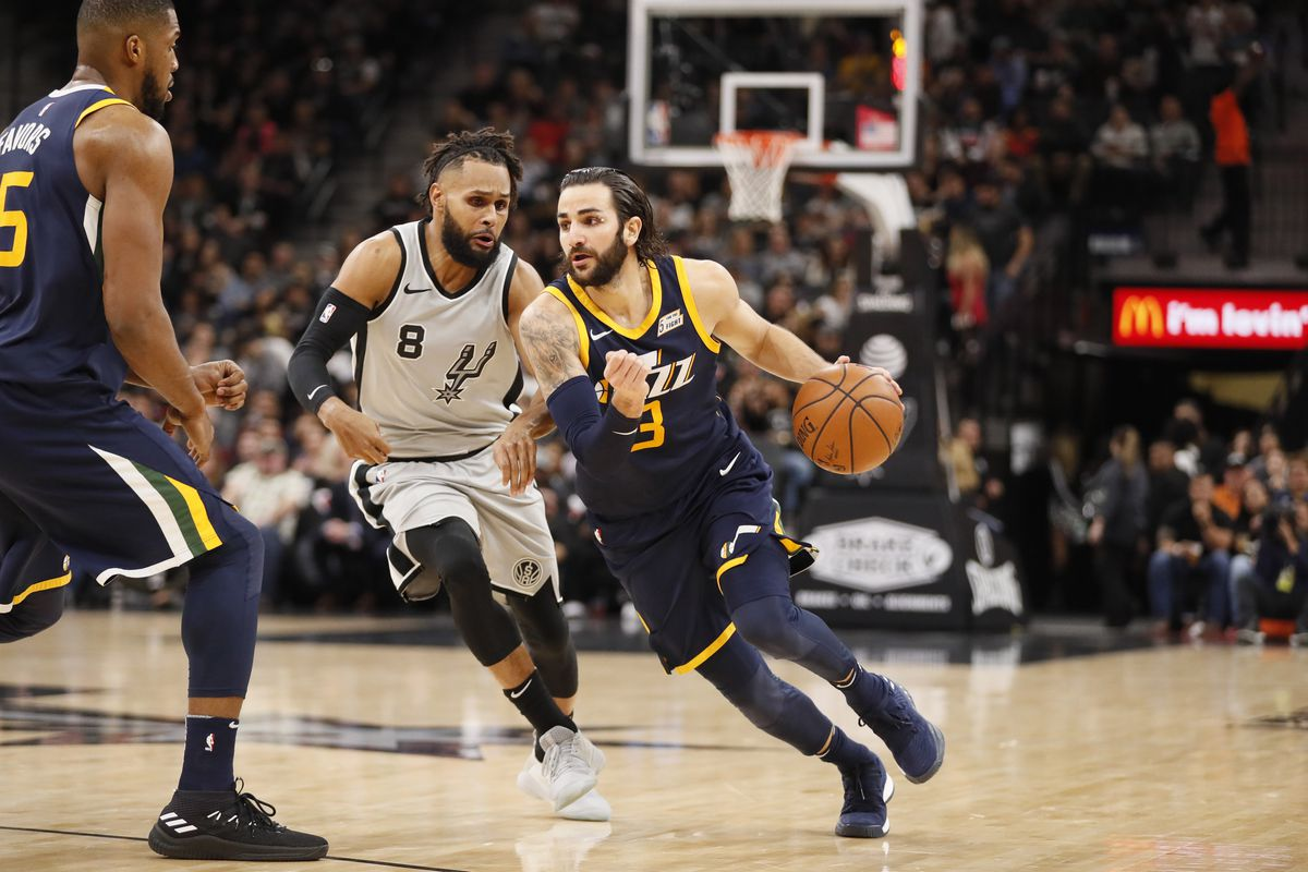 NBA: Utah Jazz at San Antonio Spurs