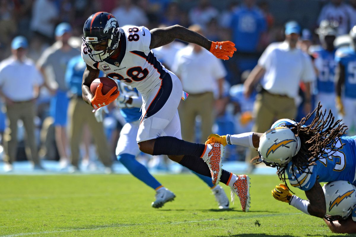 Fantasy football start sit Week 8 What to do with Demaryius