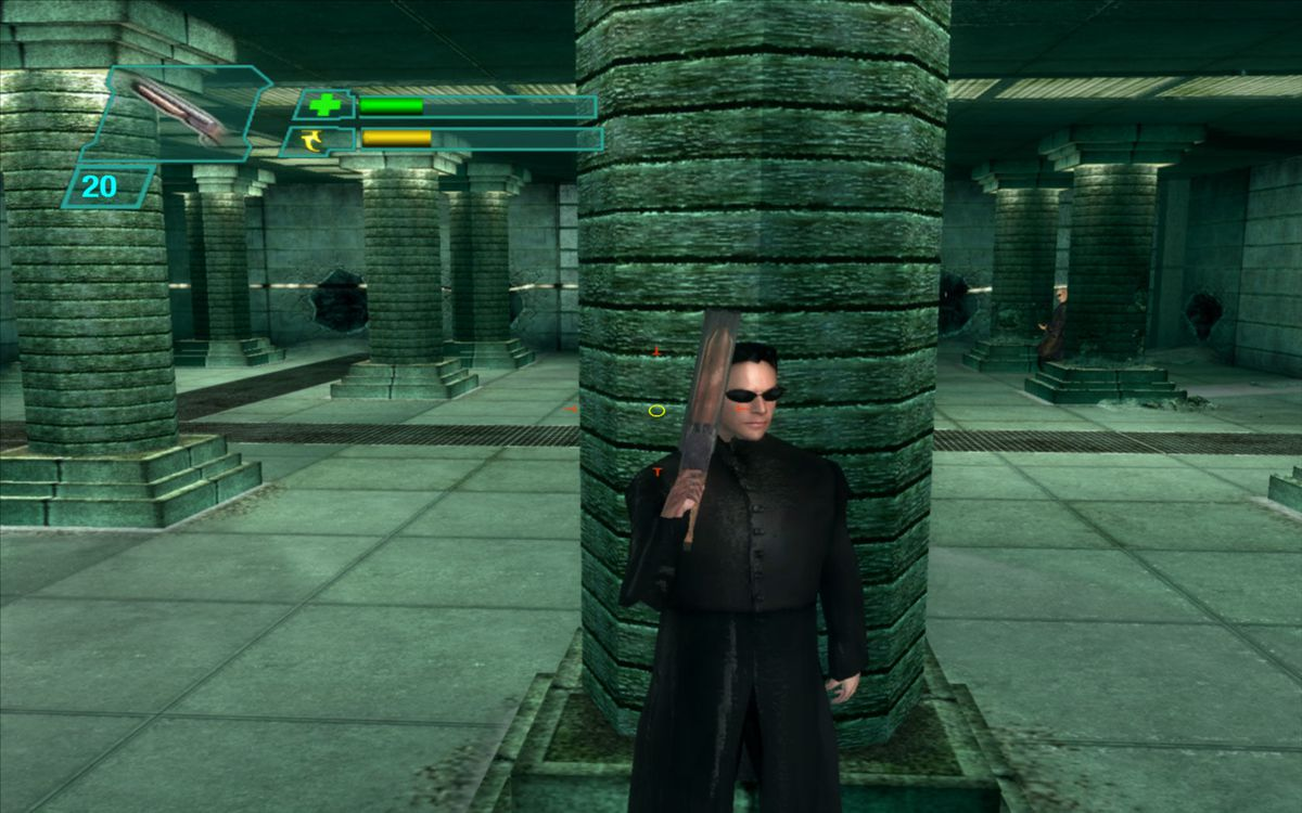 The Matrix: Path of Neo - taking cover