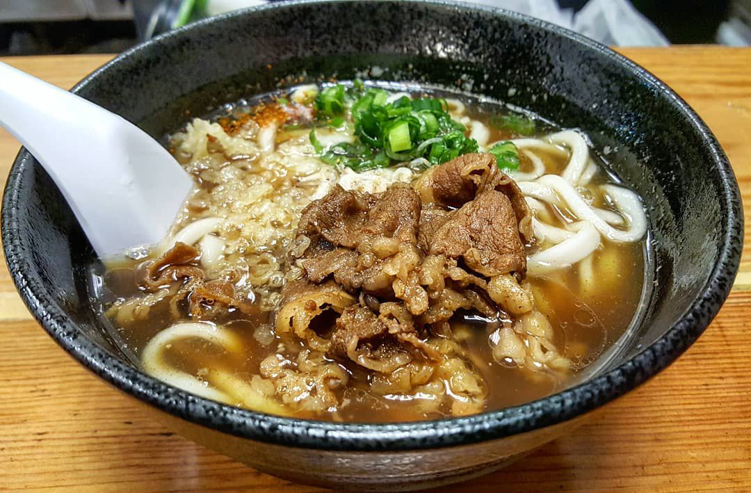 Udon (hot) at Yume Ga Arukara