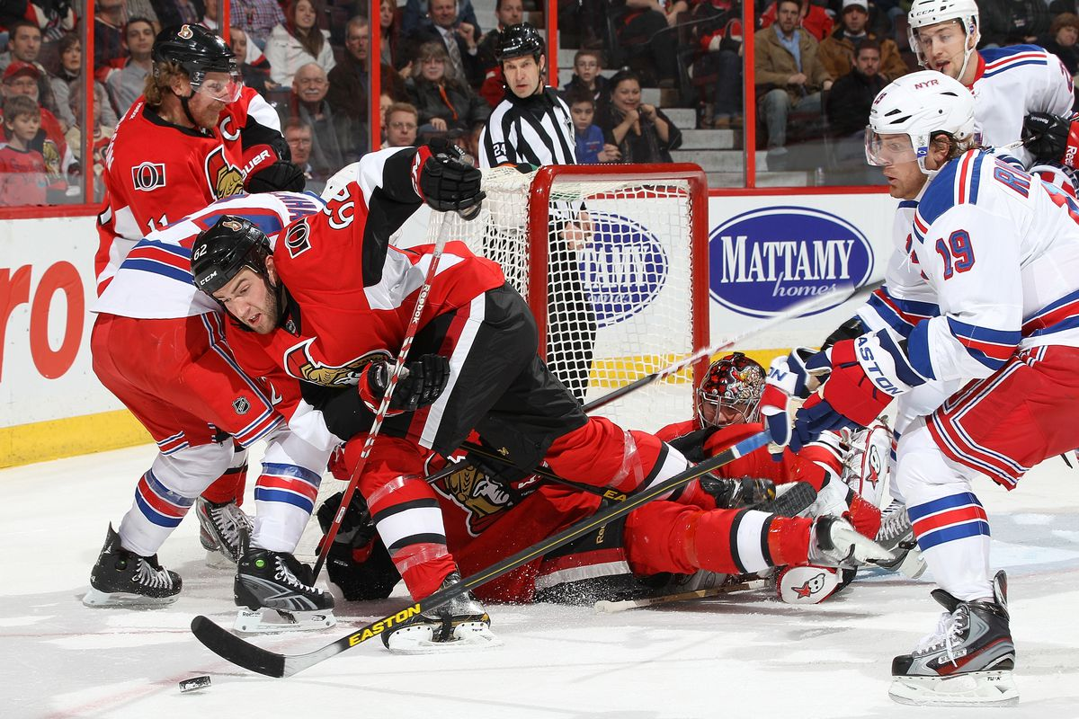 This is not where Craig Anderson got hurt, this is where he was awesome.
