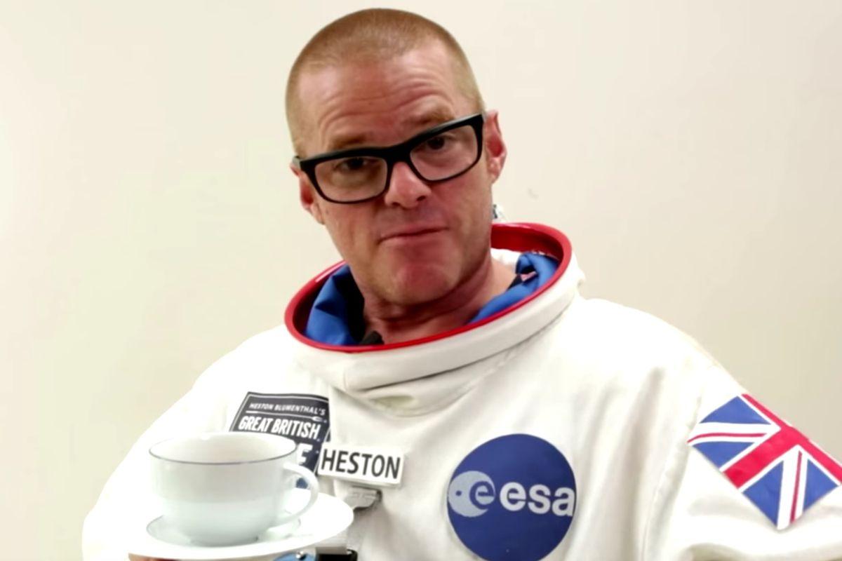 Space Chef Heston Blumenthal