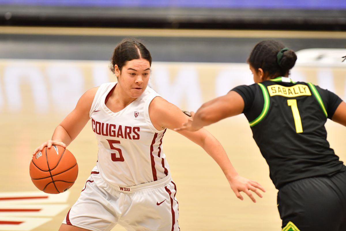 Charlisse Leger-Walker WSU women's basketball