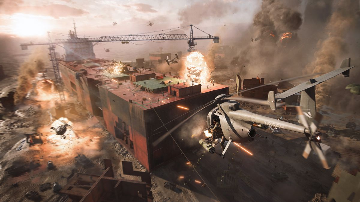 Battlefield 2042 announced for PC, PS5, Xbox Series X - Polygon