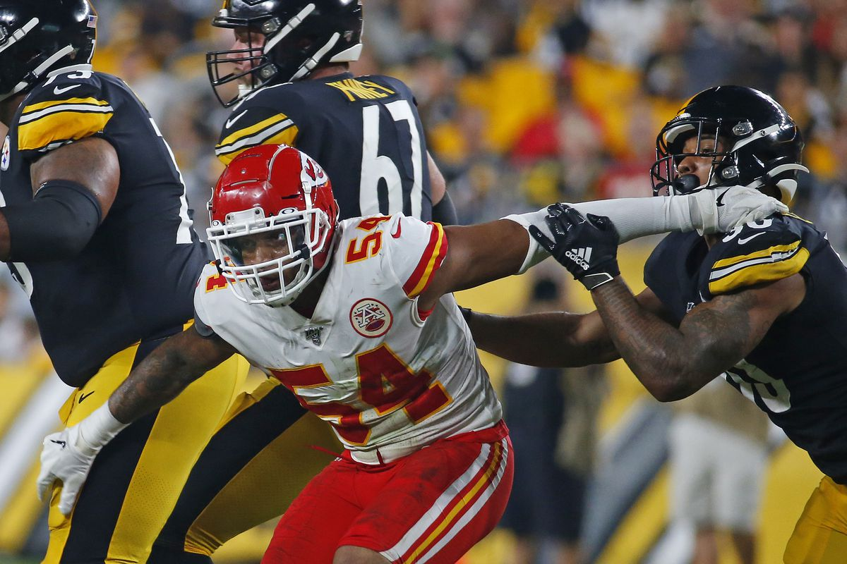 info for 2b3df 7266b Damien Wilson and Darron Lee battling to be the Chiefs' WILL ...