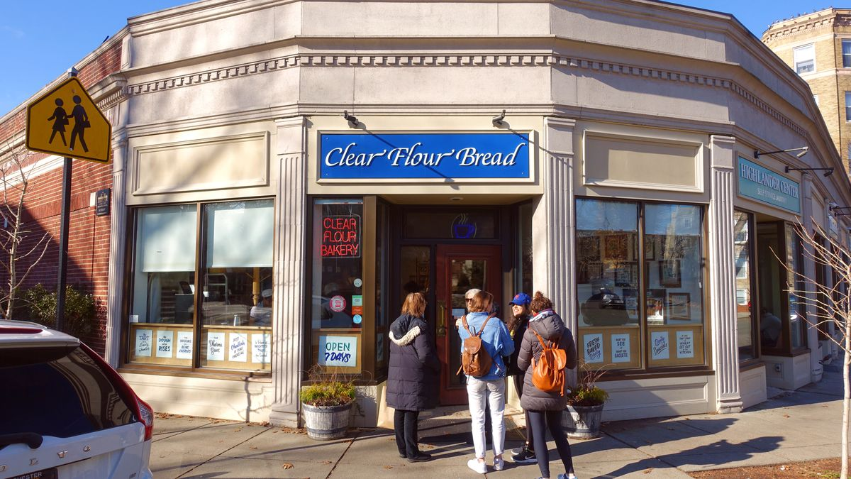 Clear Flour Bread in Brookline
