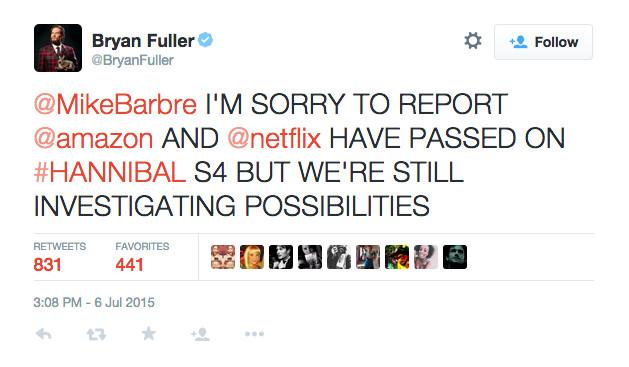 Hannibal tweet