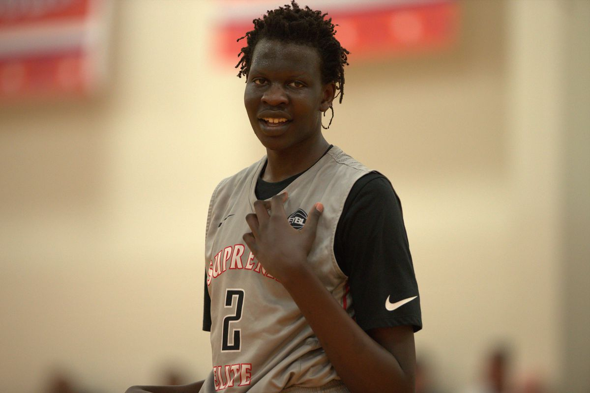 Bol Bol is the 5-star recruit carrying a famous name and a ...