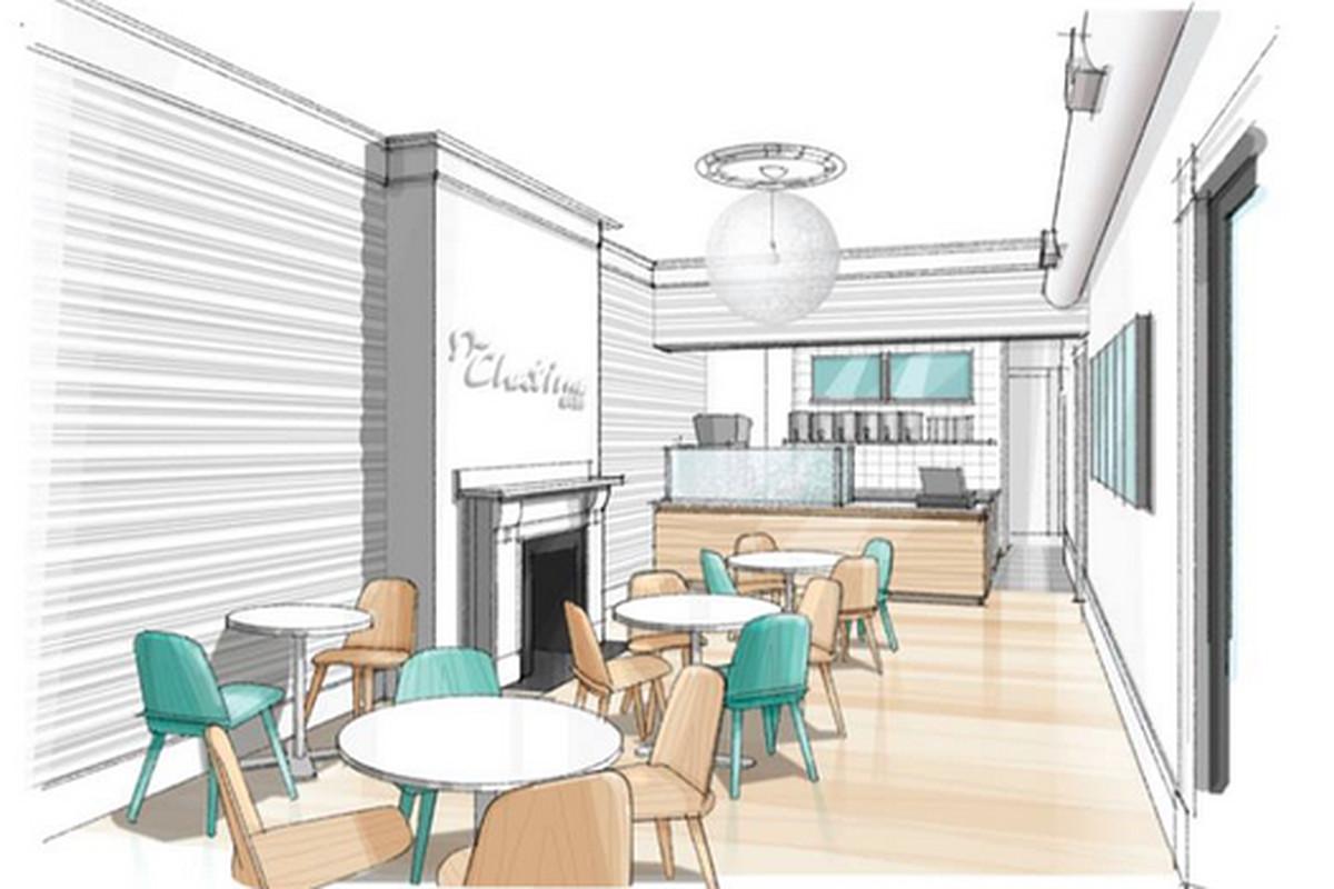 Rendering of Newbury Street location