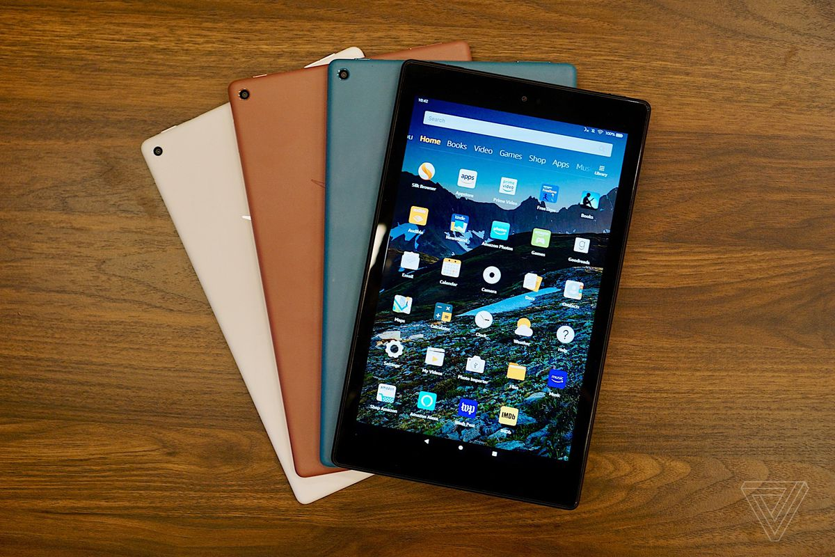 Amazon updates the Fire HD 40 with a faster processor and USB C ...
