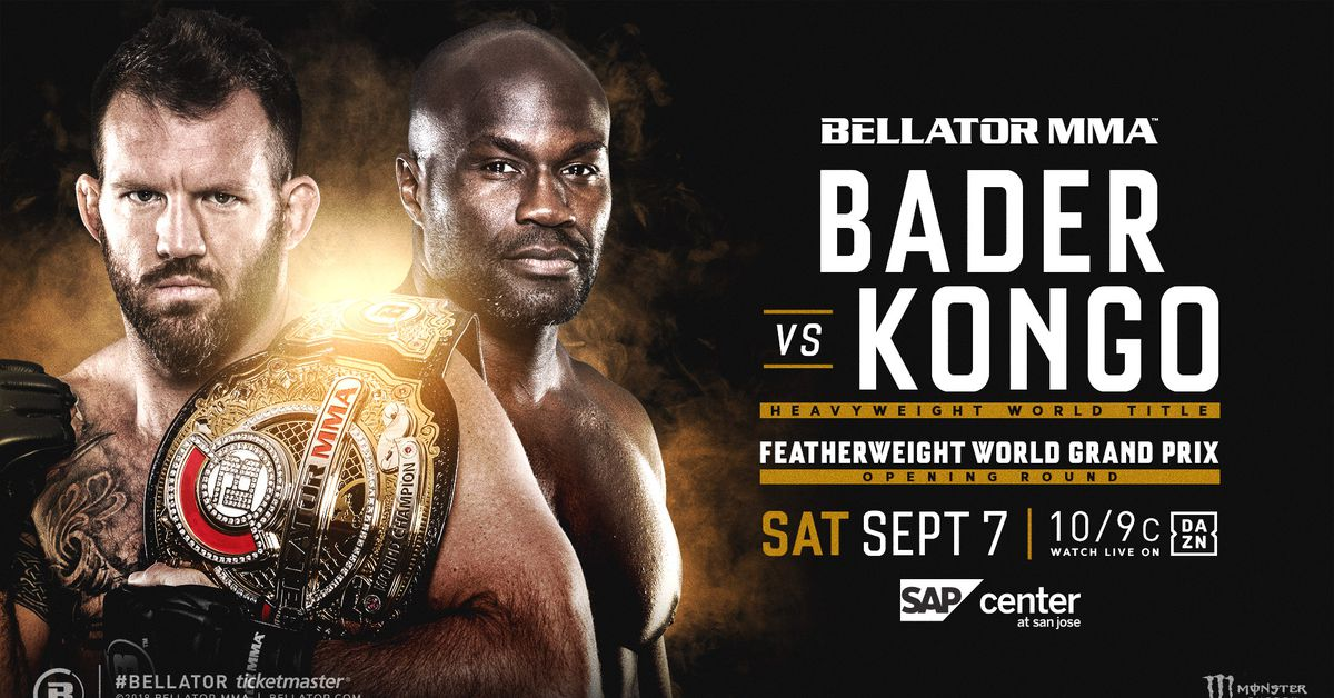 Bellator 226 results: Live 'Bader vs Kongo' streaming play