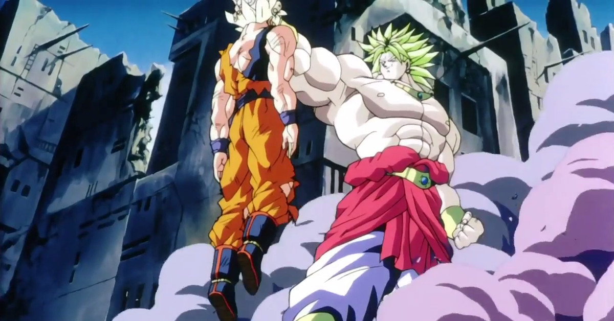 Dragon ball super s movie makes infamous broly canon polygon - Sayen legendaire ...