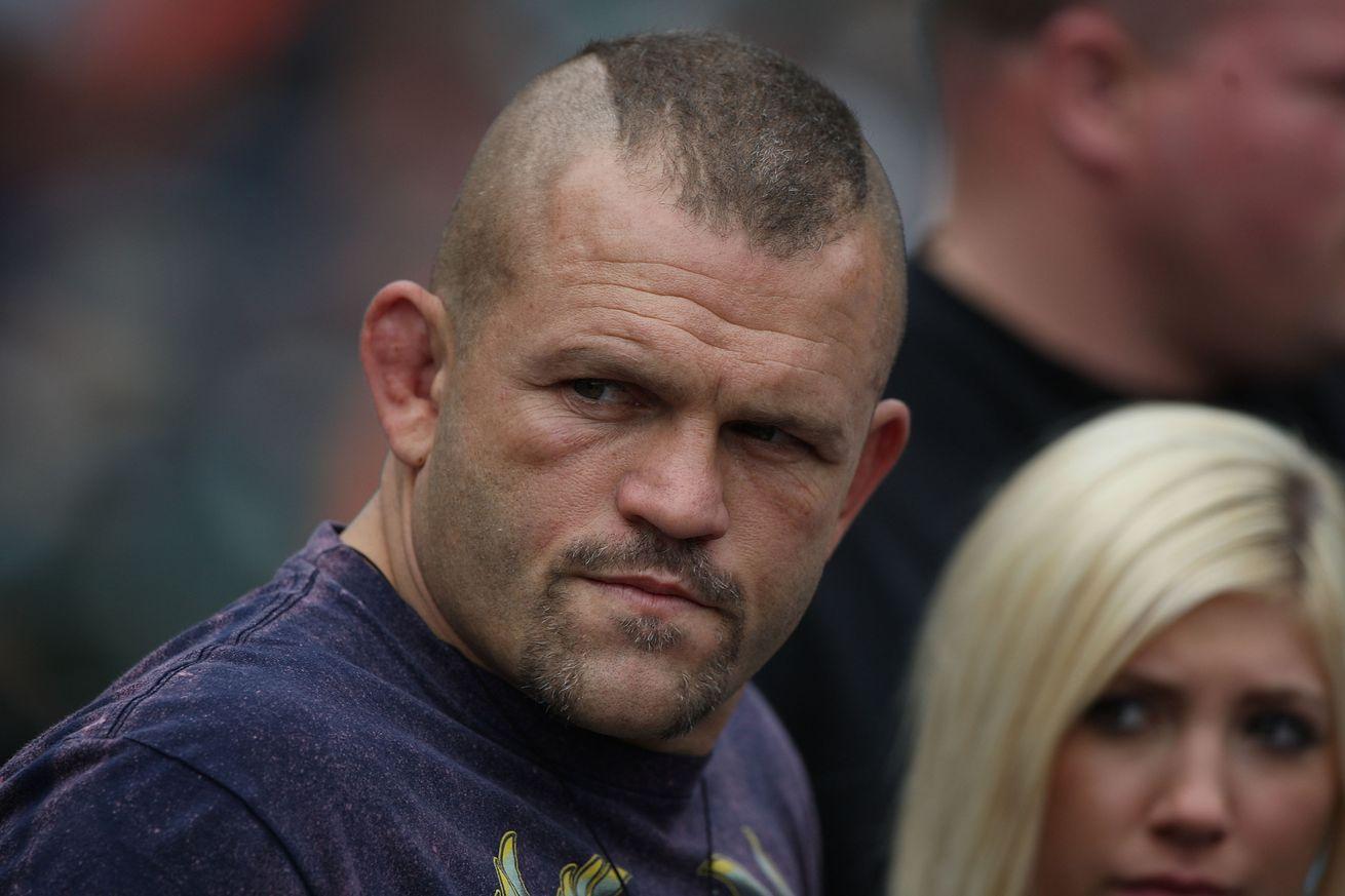 UFC hall of famer Chuck Liddell just had lunch with Bellator president Scott Coker