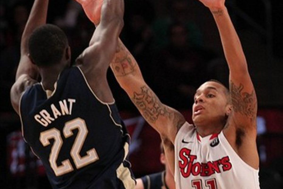 D'Angelo Harrison and the Johnnies will have two chances to try to stifle the Fighting Irish next season.