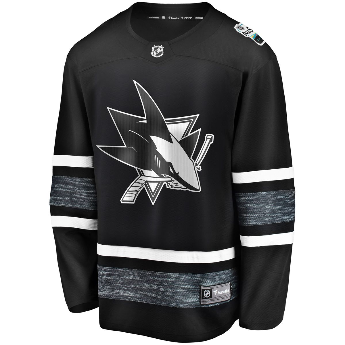 San Jose Sharks Black 2019 NHL All-Star Game Replica Jersey for  139.99  NHLShop.com c2e12c6d6