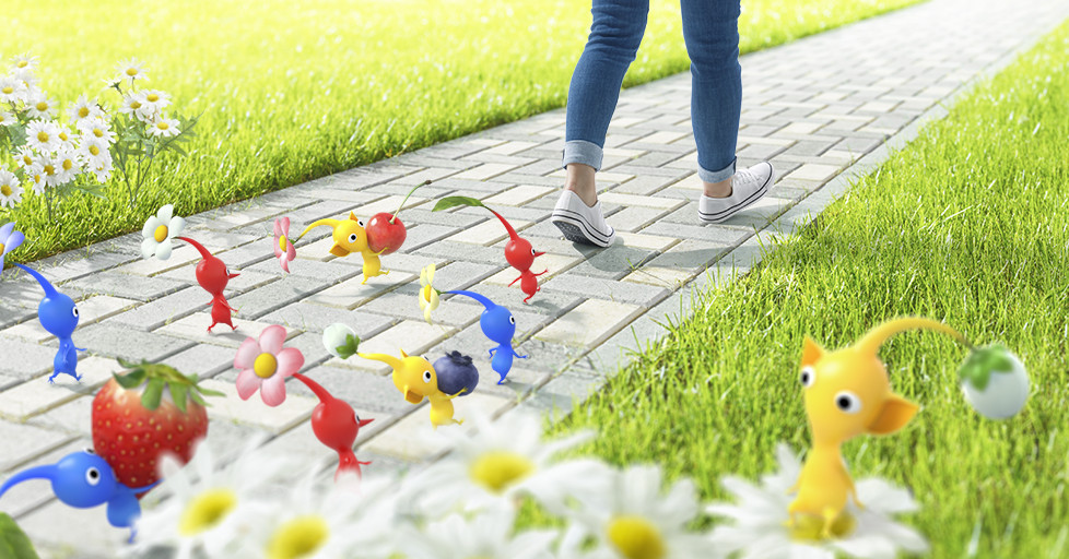 Pikmin is the next AR game from the makers of Pokémon Go