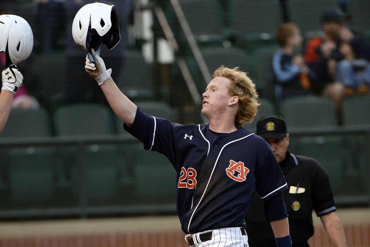 Auburn first baseman Garrett Cooper was named second-team All-SEC, as was left fielder Cullen Wacker.