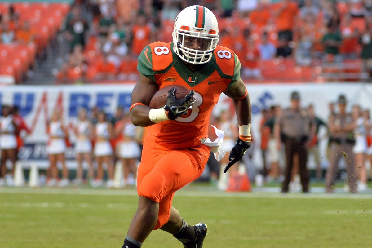 a16b33564 Miami Hurricanes RB Duke Johnson Selected by Cleveland Browns ...