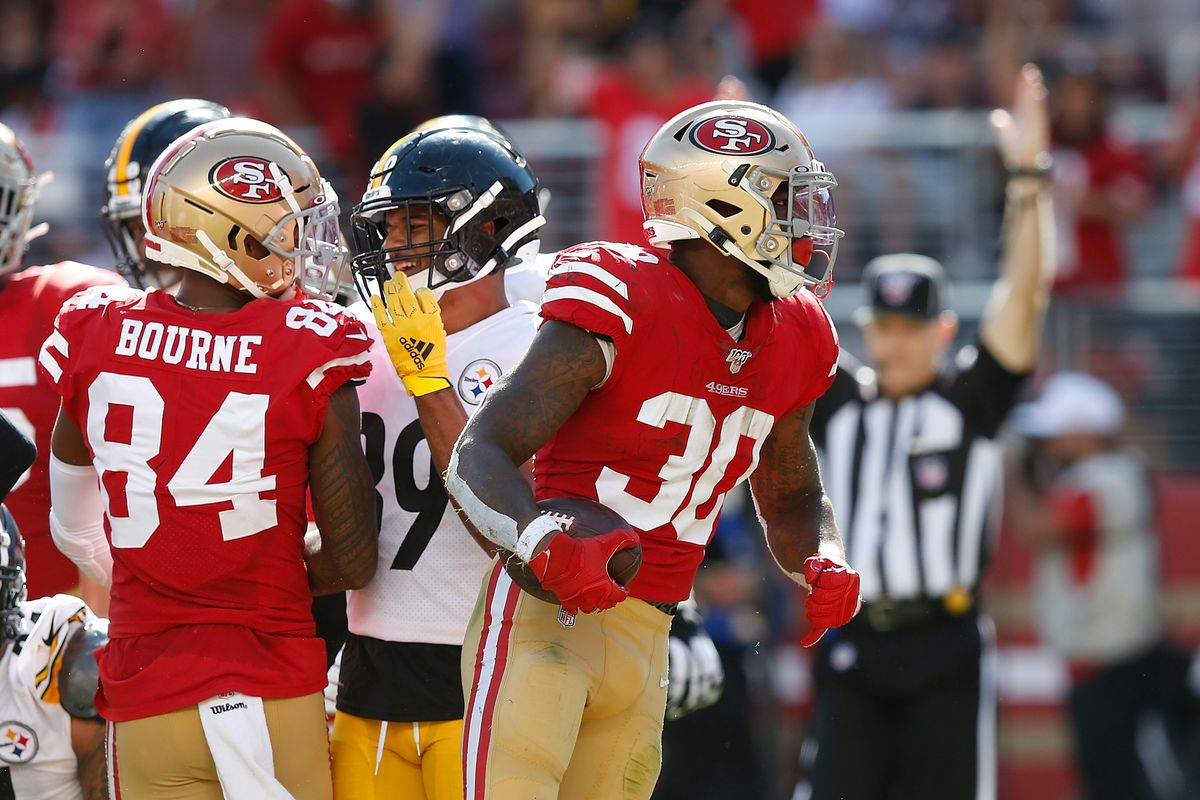 wholesale dealer 0ade7 65e3f Steelers can't turn 5 turnovers into a win, lose to 49ers 24 ...