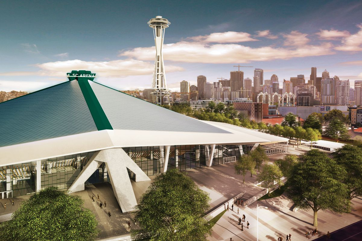 Key Arena Seattle Map.Here S How Contractors Will Renovate Key Arena Curbed Seattle