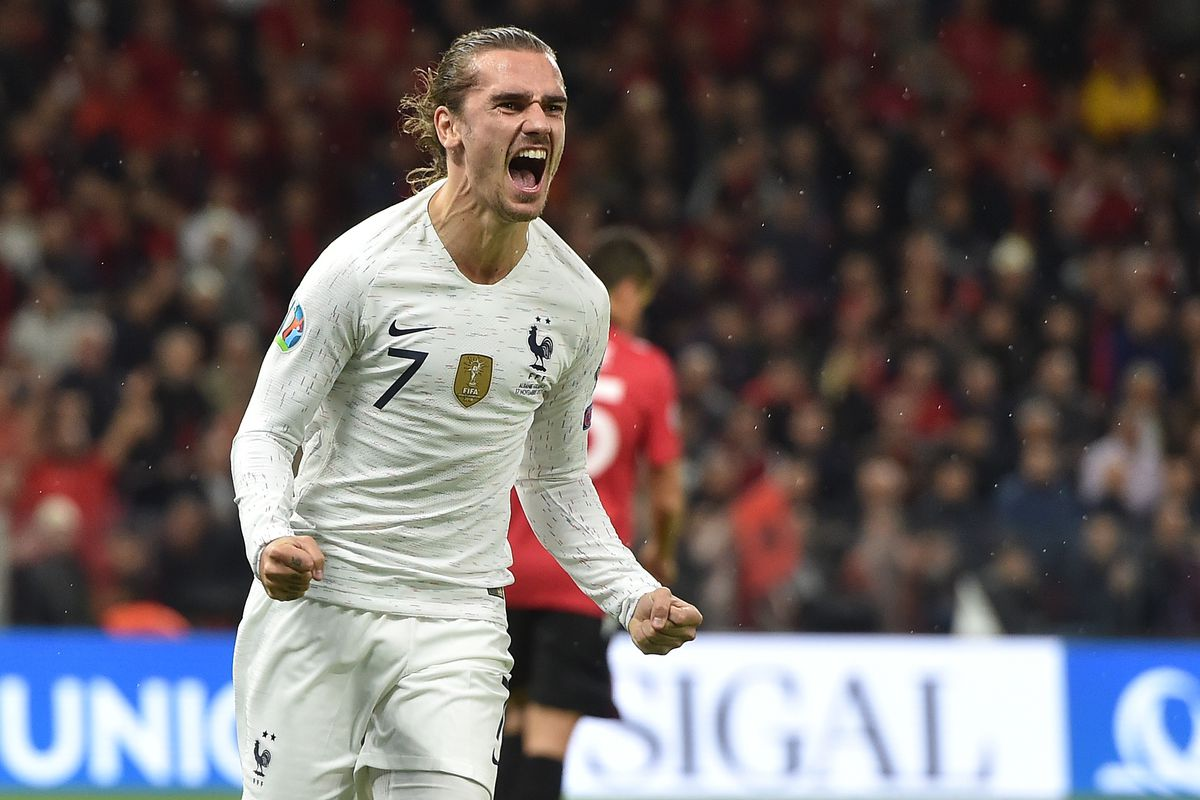 Antoine Griezmann shines in France's win over Albania - Barca Blaugranes