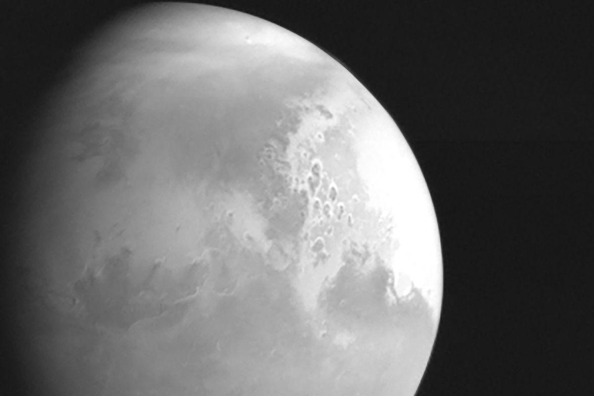 CHINA-MARS PROBE-TIANWEN-1-FOURTH ORBITAL CORRECTION-IMAGE (CN)