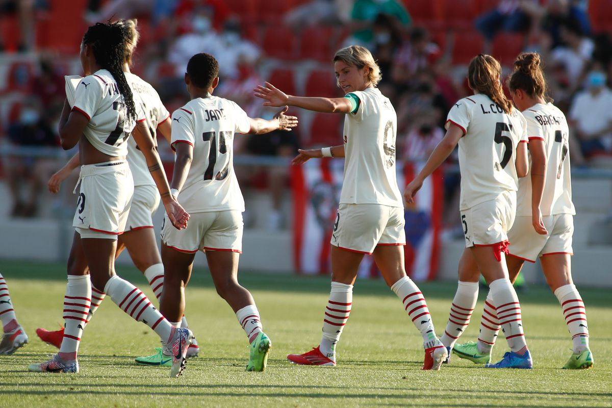 At. Madrid V Ac Milan - Friendly Women Football