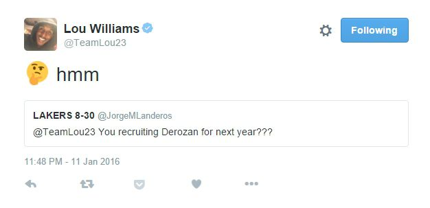 45200e19f Lakers Free Agency News  Lou Williams ponders recruiting former ...