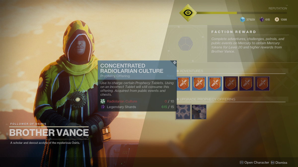Destiny 2 Curse of Osiris guide: Weapon crafting and