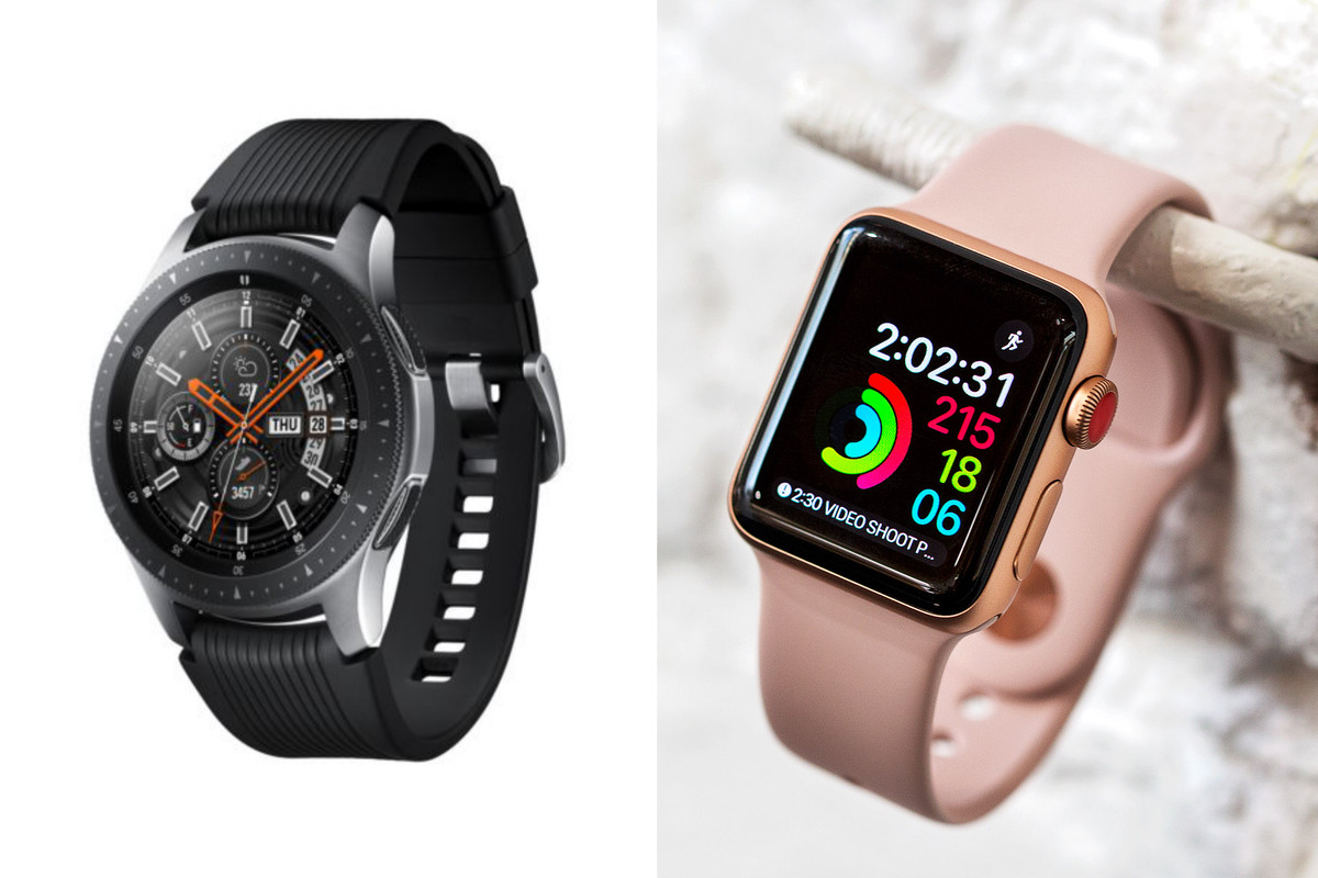 Samsung Galaxy Watch vs Apple Watch Series 3: specs