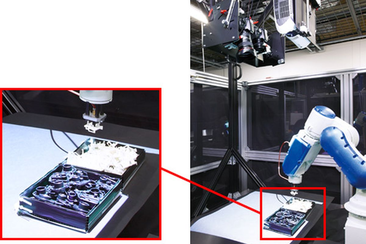 Canon industrial robot