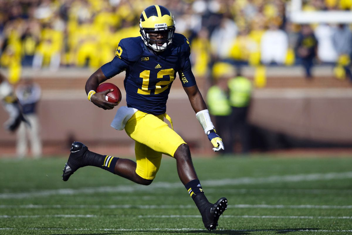 A combination of Devin Gardner and Denard Robinson will help determine The Game 2012.