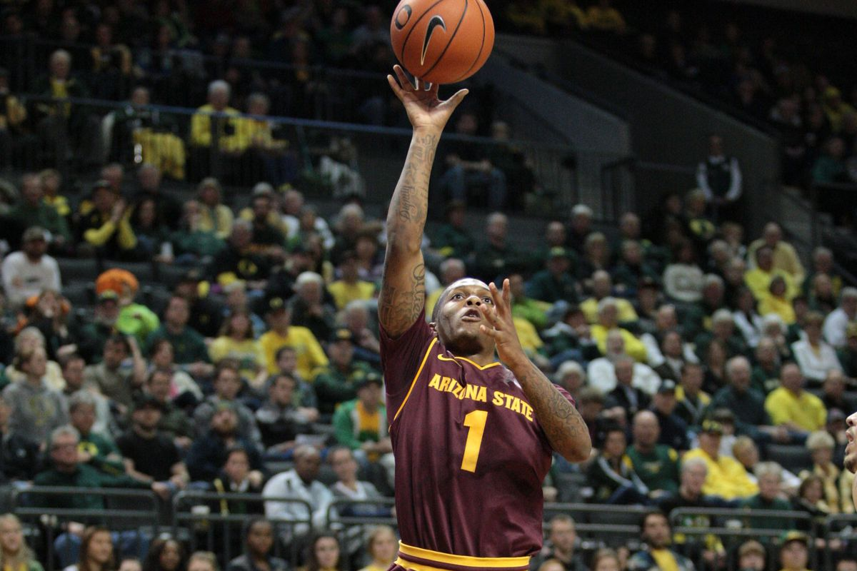 Jahii Carson raised the Sun Devils with 21 second half points.