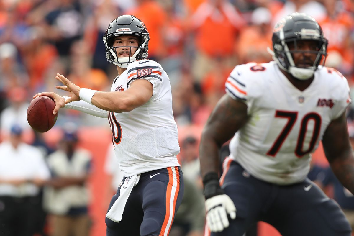 QB Mitch Trubisky is only part of Bears' offensive woes