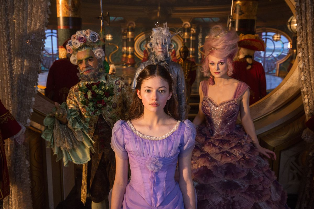 Clara and Sugar Plum Fairy in The Nutcracker and the Four Realms