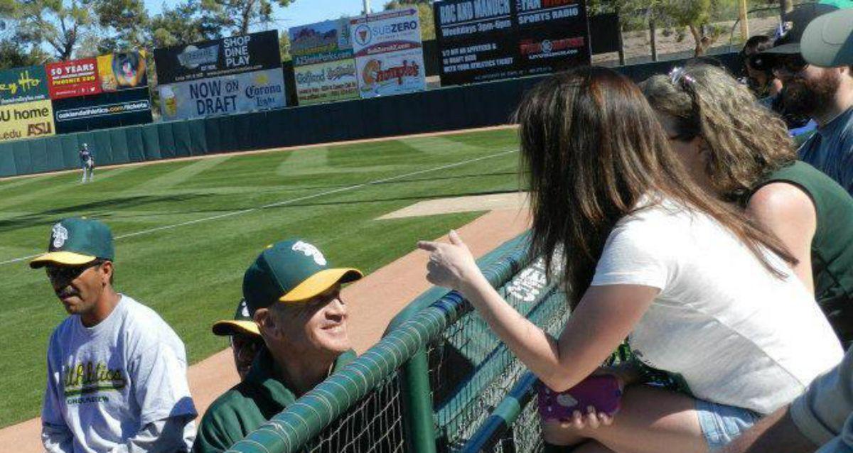 Bob Welch, Oakland A's, spring training