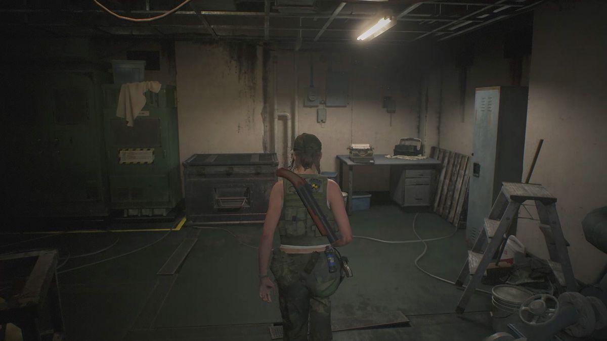 Resident Evil 2 2nd RunOperators Room