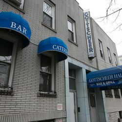 """<b>↑</b>End your day at the inviting <a href="""" http://gottscheerhall.com/"""">Gottscheer Hall</a></b> (657 Fairview Avenue) and treat yourself to your fill of conversation, beer and bar snacks. The friendly, spacious hall serves up German suds and food, with"""