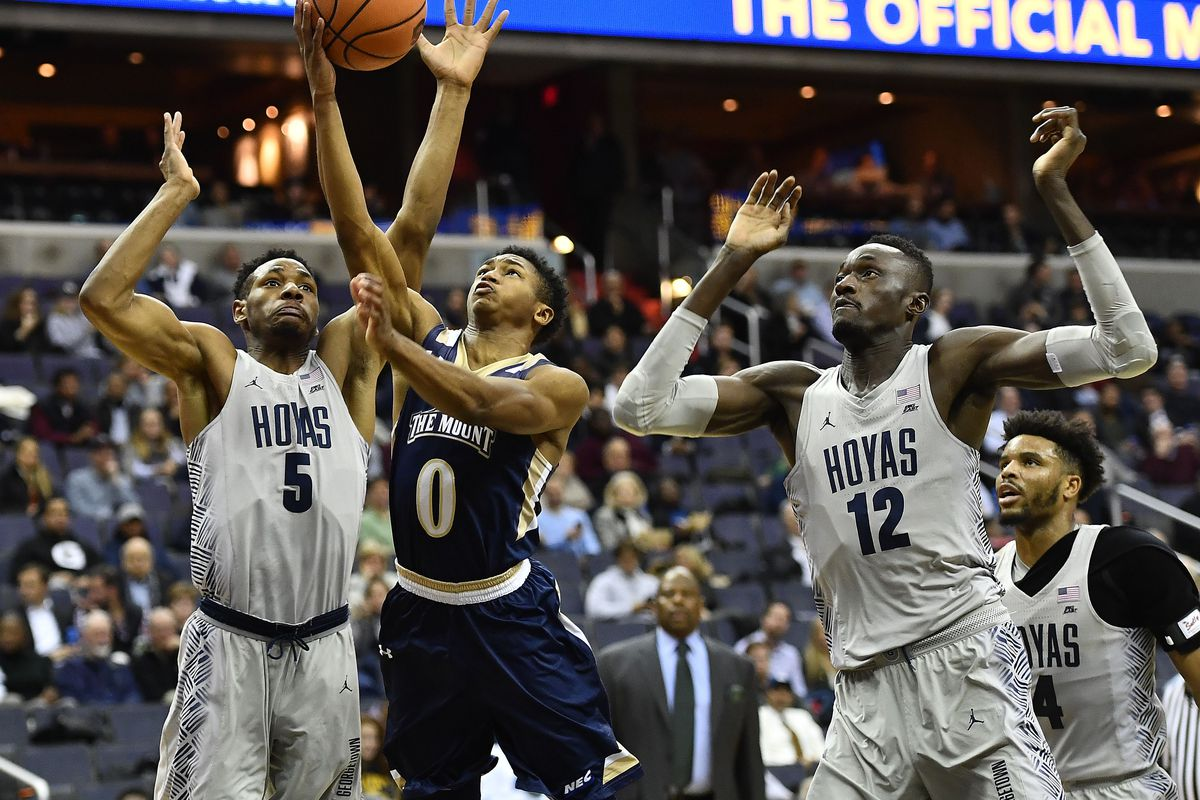 NCAA Basketball: Mount St. Mary's at Georgetown
