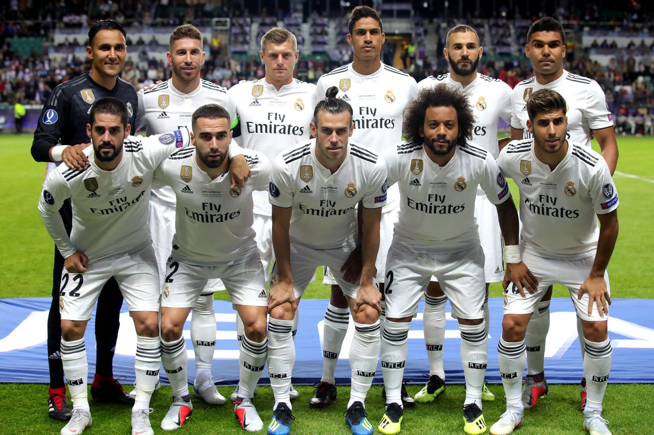 Player Ratings: Real Madrid vs Atletico Madrid, 2018 UEFA Super Cup