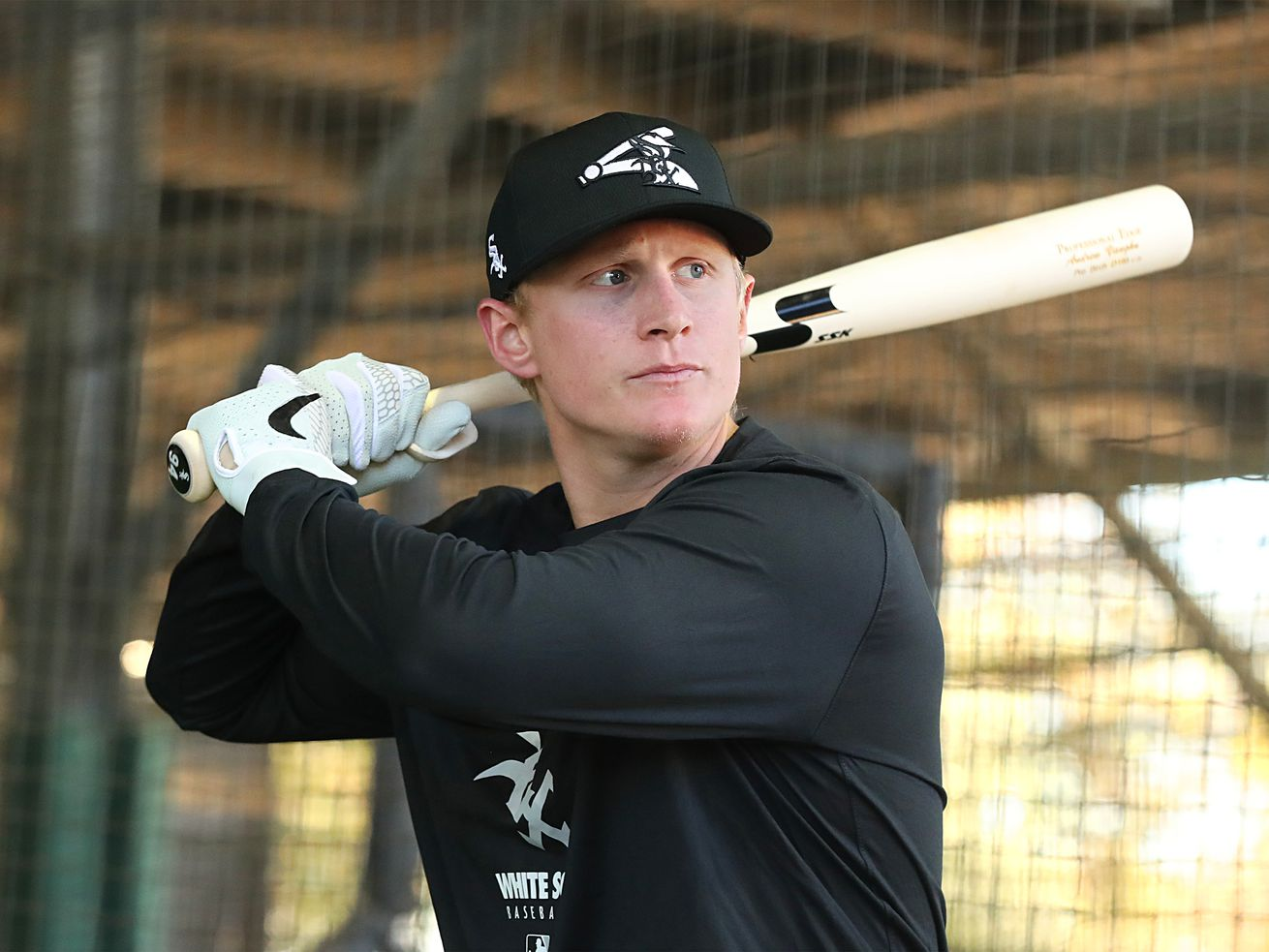 White Sox outfielder-first baseman Andrew Vaughn went on the injured list Thursday.