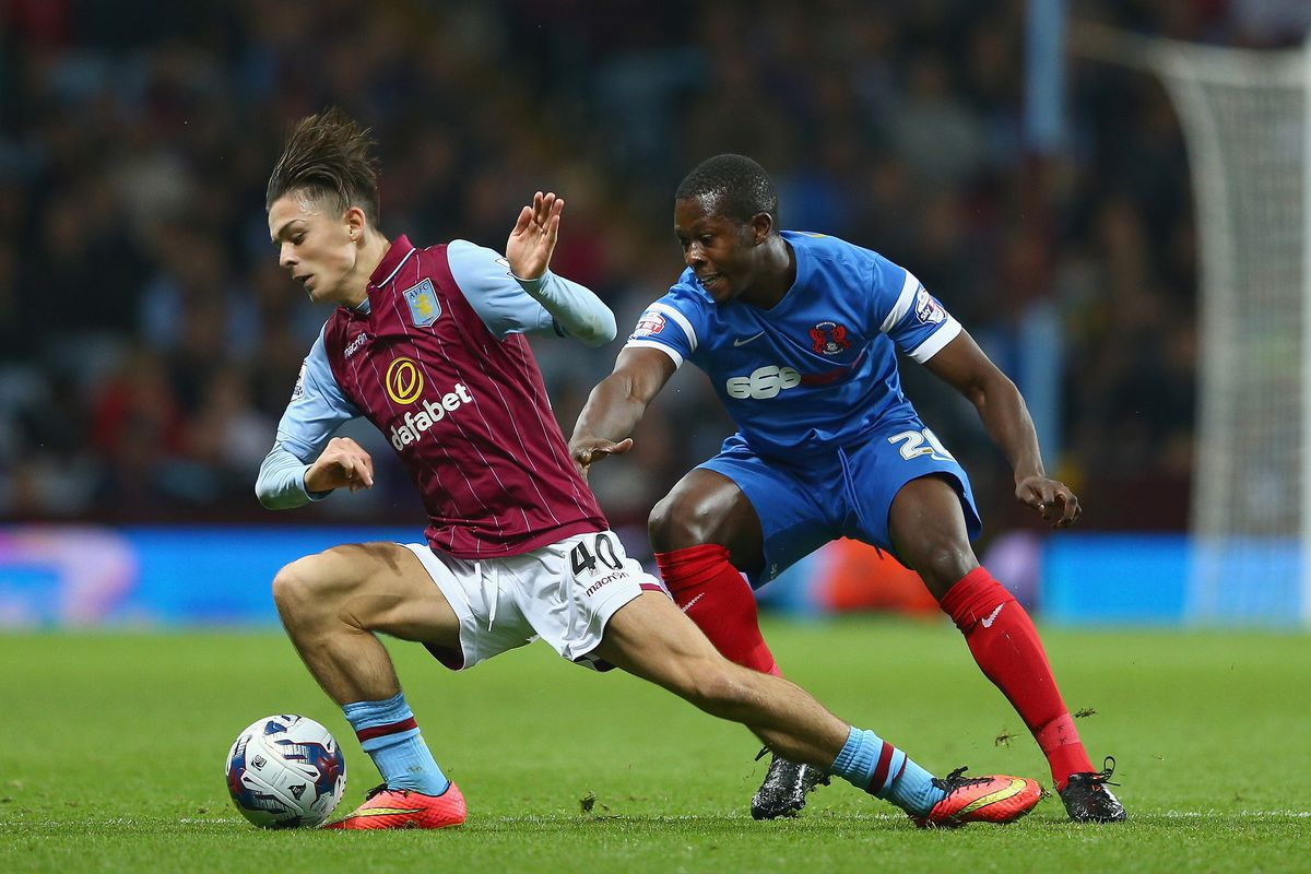 Jack Grealish and his hair started and scored for the Villa U21s against West Brom.