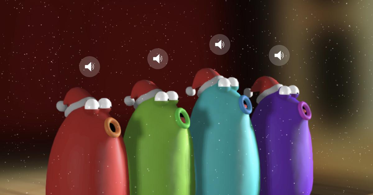 Google's Blob Opera uses machine learning to emulate classical Christmas carols