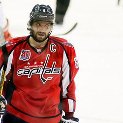 Ovechkin During Stop