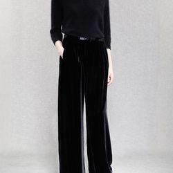 Acne Lempicka velvet pants (were $540, now $270)