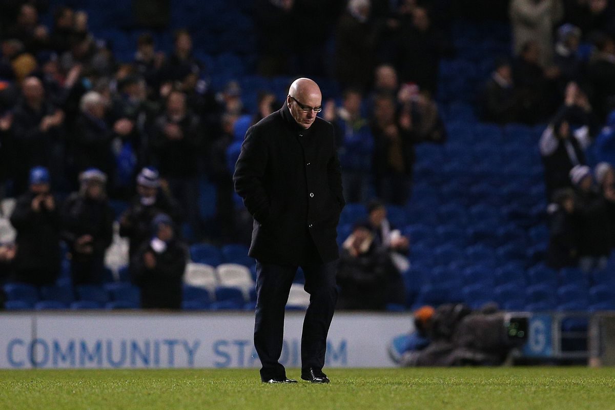 Dejected McDermott could be sacked almost exactly a year on from his Royals axing.