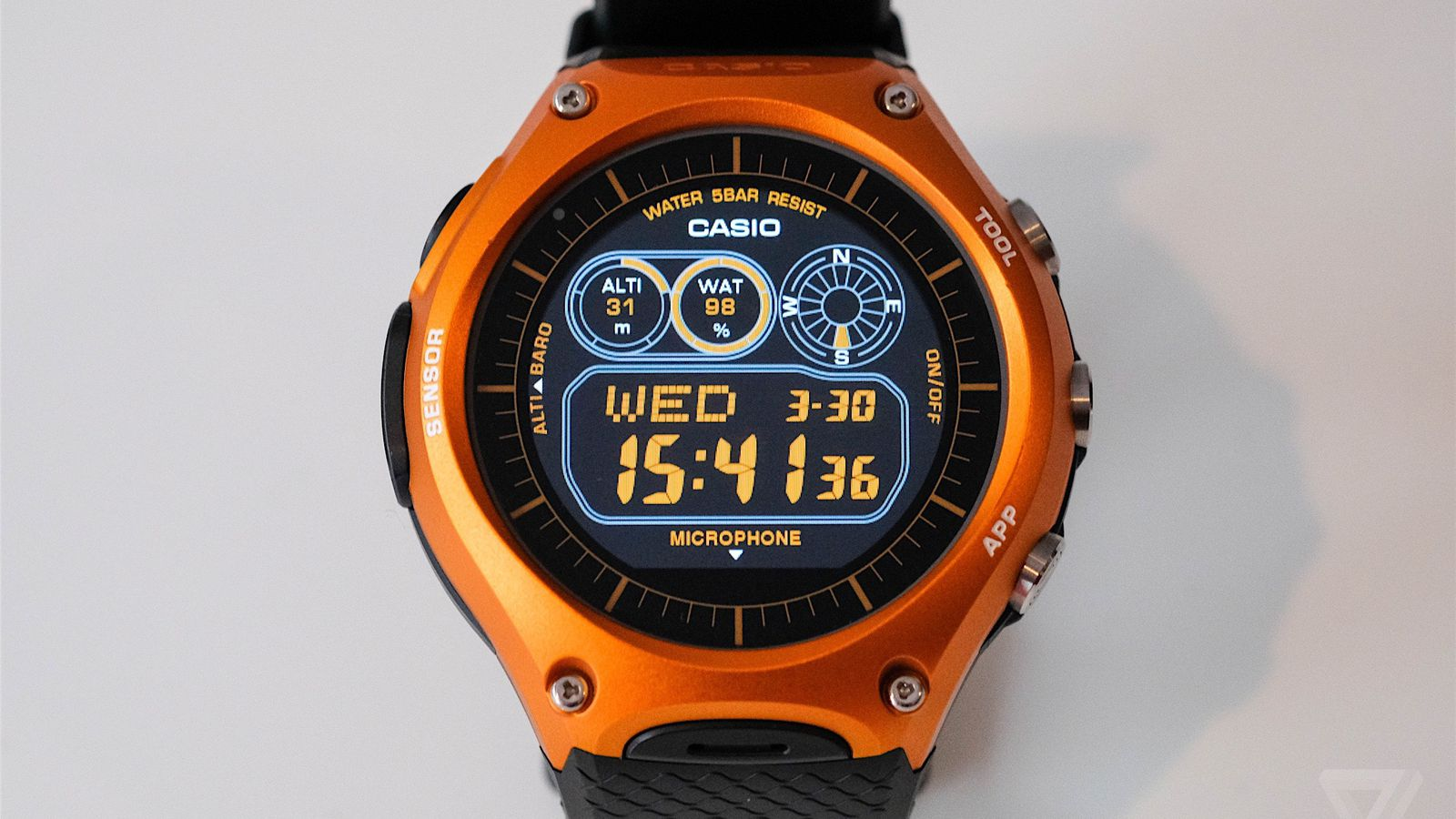Casio Smart Outdoor Watch review: Android Wear climbs a ...