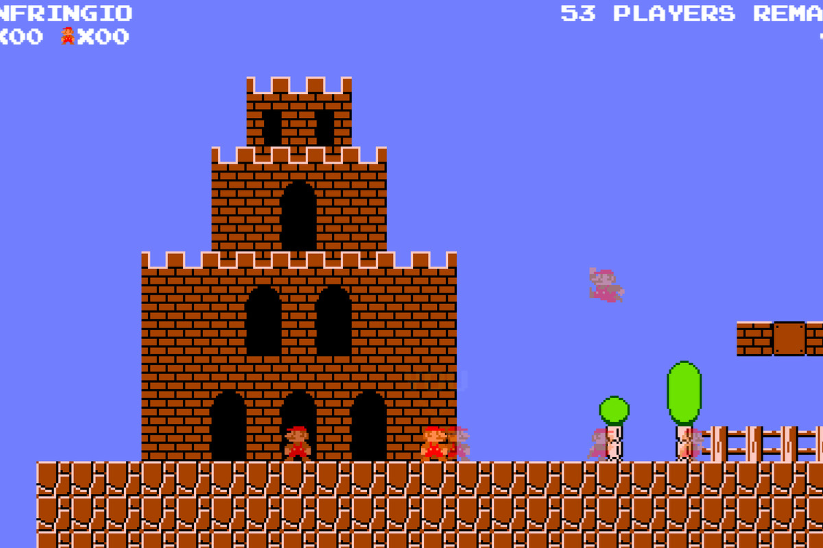 Super Mario makes for a shockingly good battle royale game