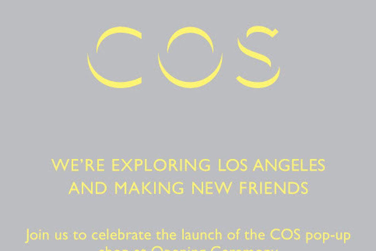 Flyer via COS
