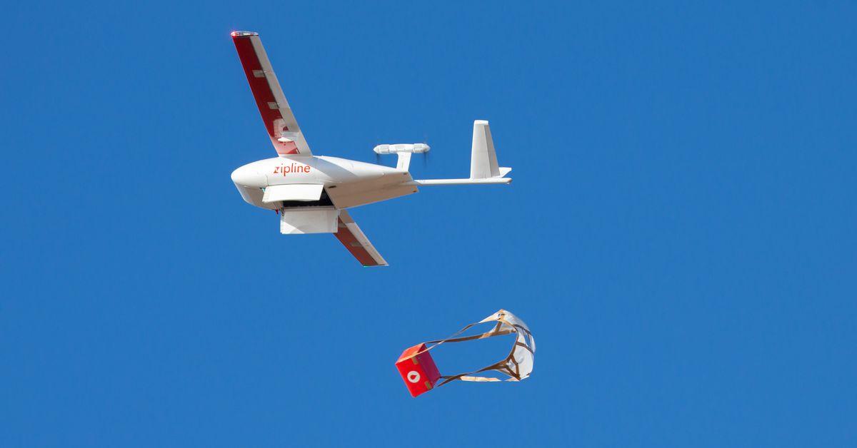Máy bay không người lái Zipline đang cung cấp vật tư y tế và PPE ở Bắc Carolina